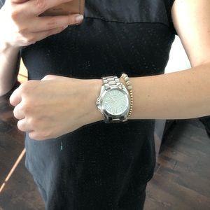 Michael Kors watch - silver